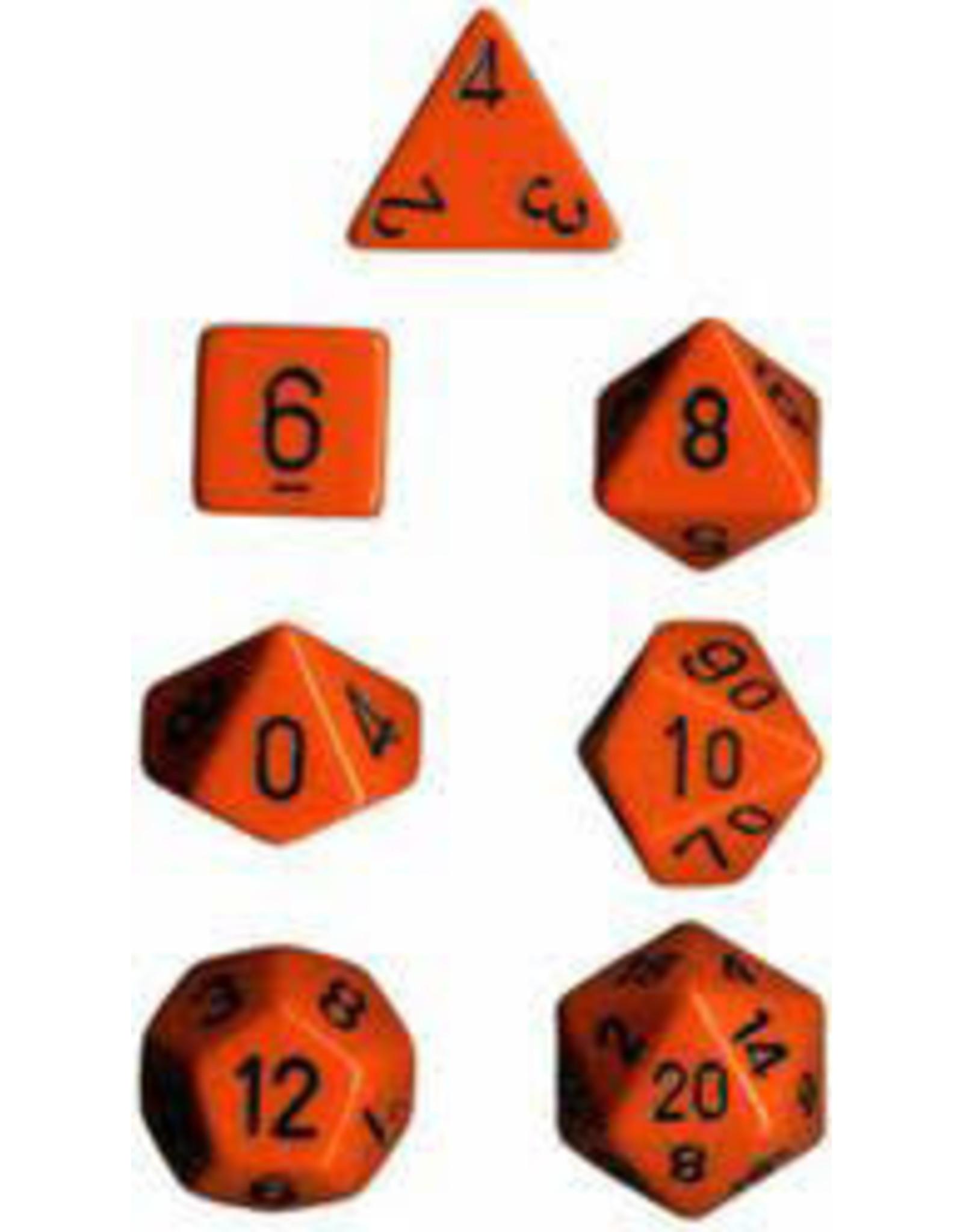 Chessex 7-Set Polyhedral CubeOP ORbk