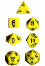 Chessex 7-Set Polyhedral CubeOP YEbk