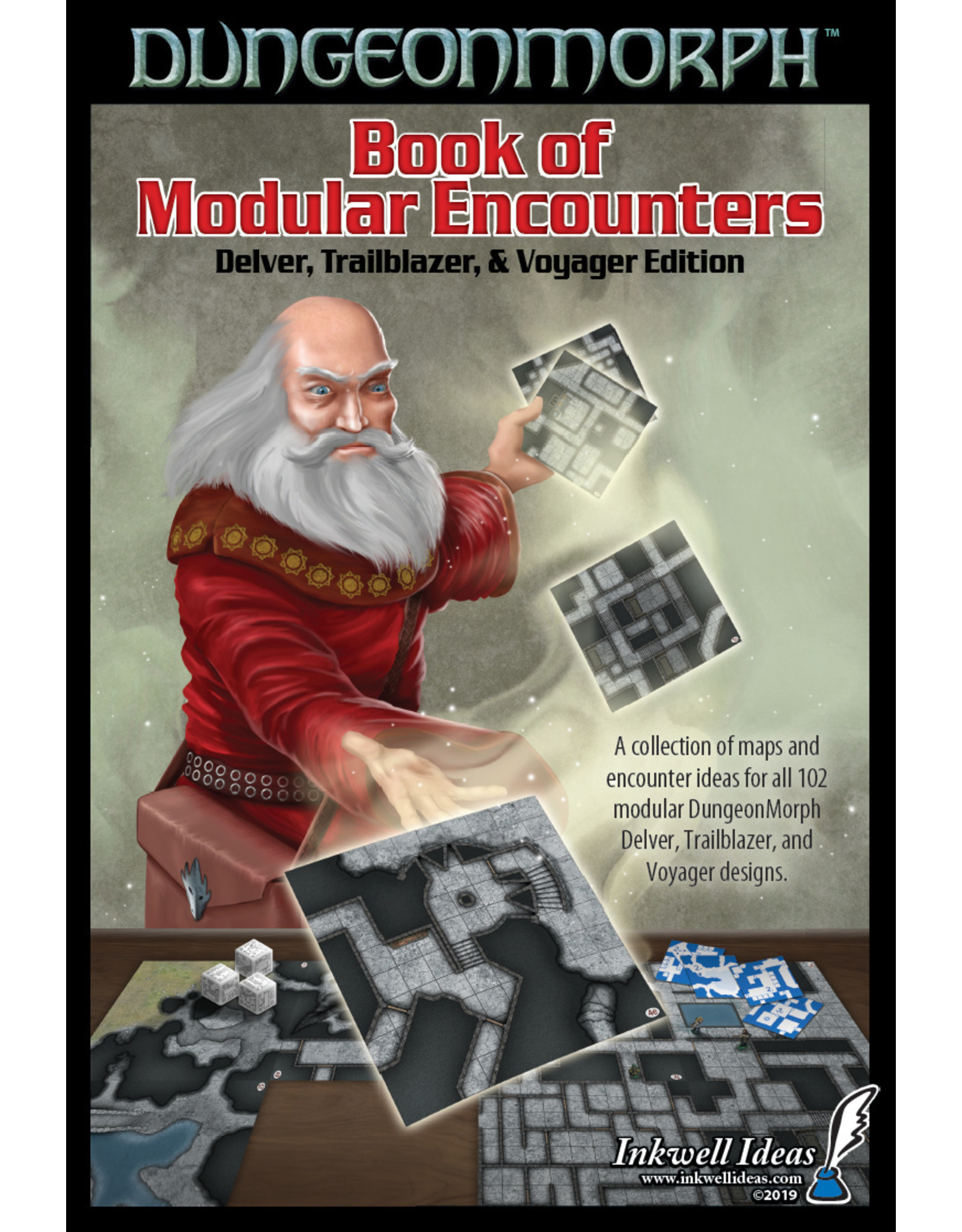 Role Playing DungeonMorph Book of Modular Encounters: Delver, Trailblazer & Voyager (softcover)