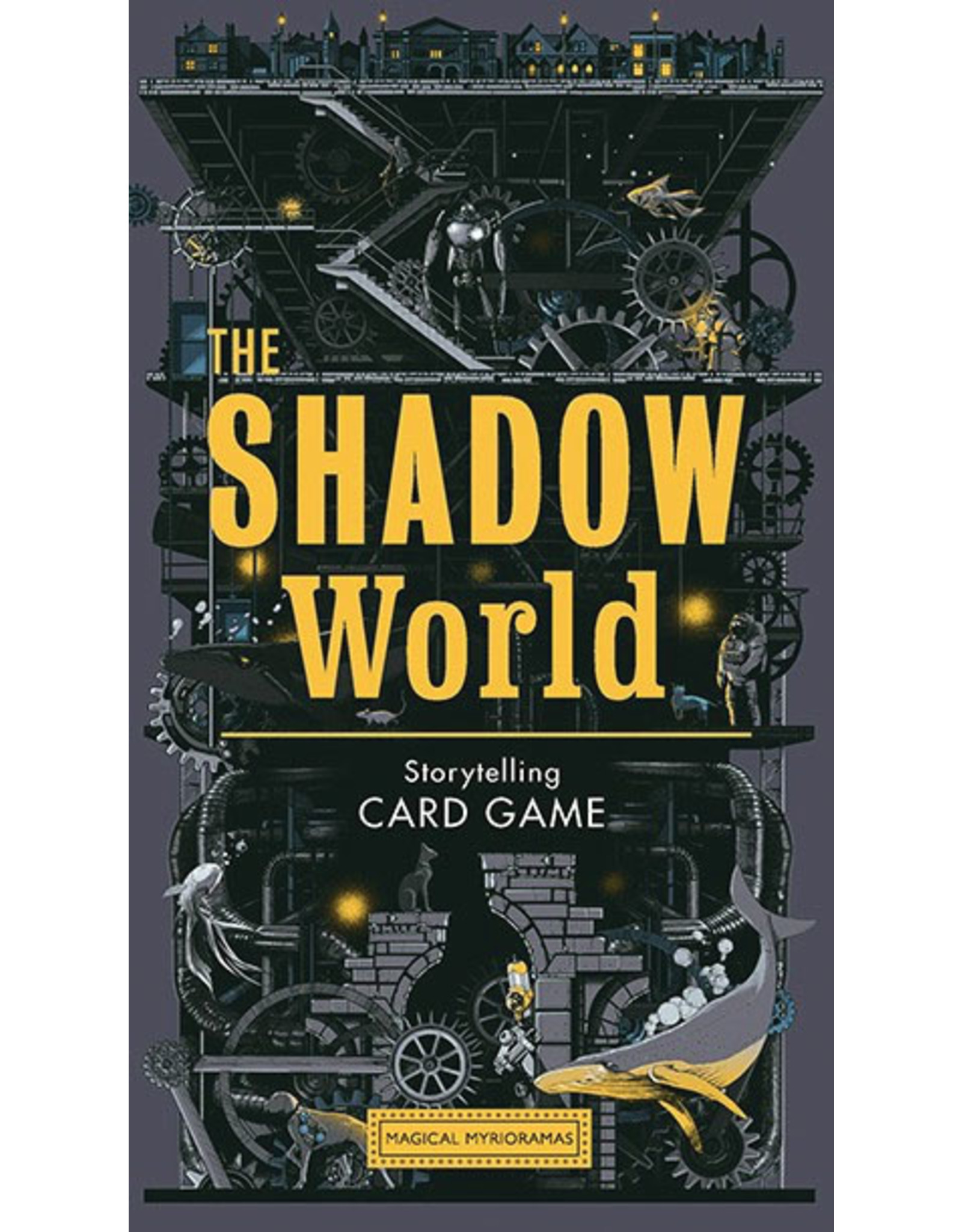 Chronicle Books Storytelling Card Game: The Shadow World