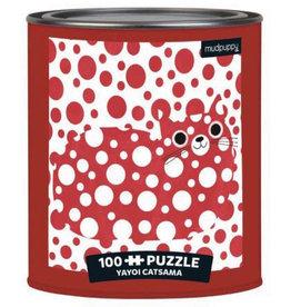Chronicle Books Yayoi Catsama Artsy Cats 100 Piece Puzzle Tin