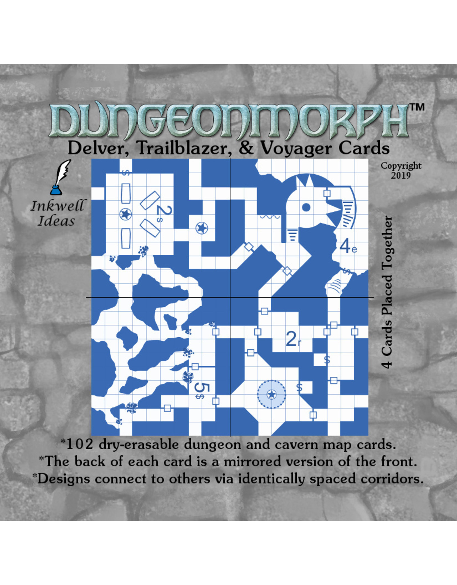 Role Playing DungeonMorph Cards: Delver, Trailblazer, & Voyager
