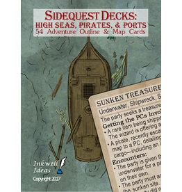 Role Playing Sidequest Decks: High Seas, Pirates, & Ports