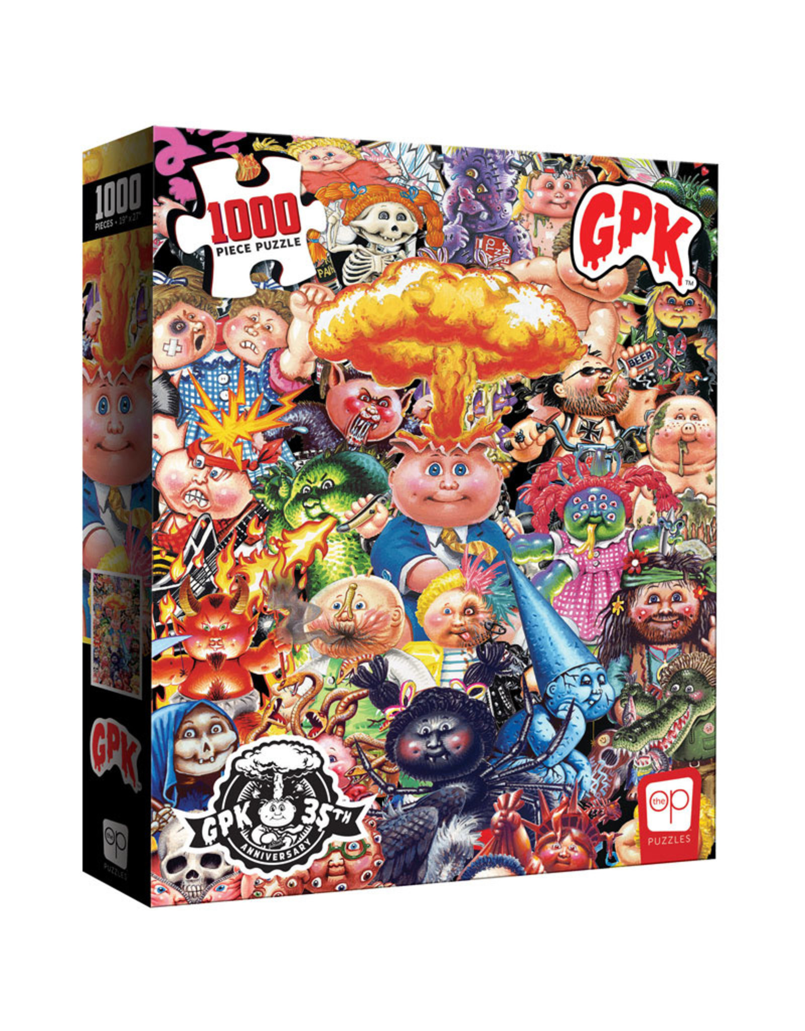 USAopoly Puzzle: Garbage Pail Kids 1000 pc