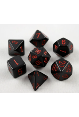 Chessex Black/Red Poly