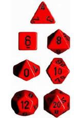 Chessex 7-Set Polyhedral CubeOP RDbk