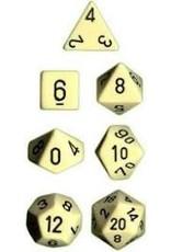 Chessex 7-Set Polyhedral CubeOP IVbk