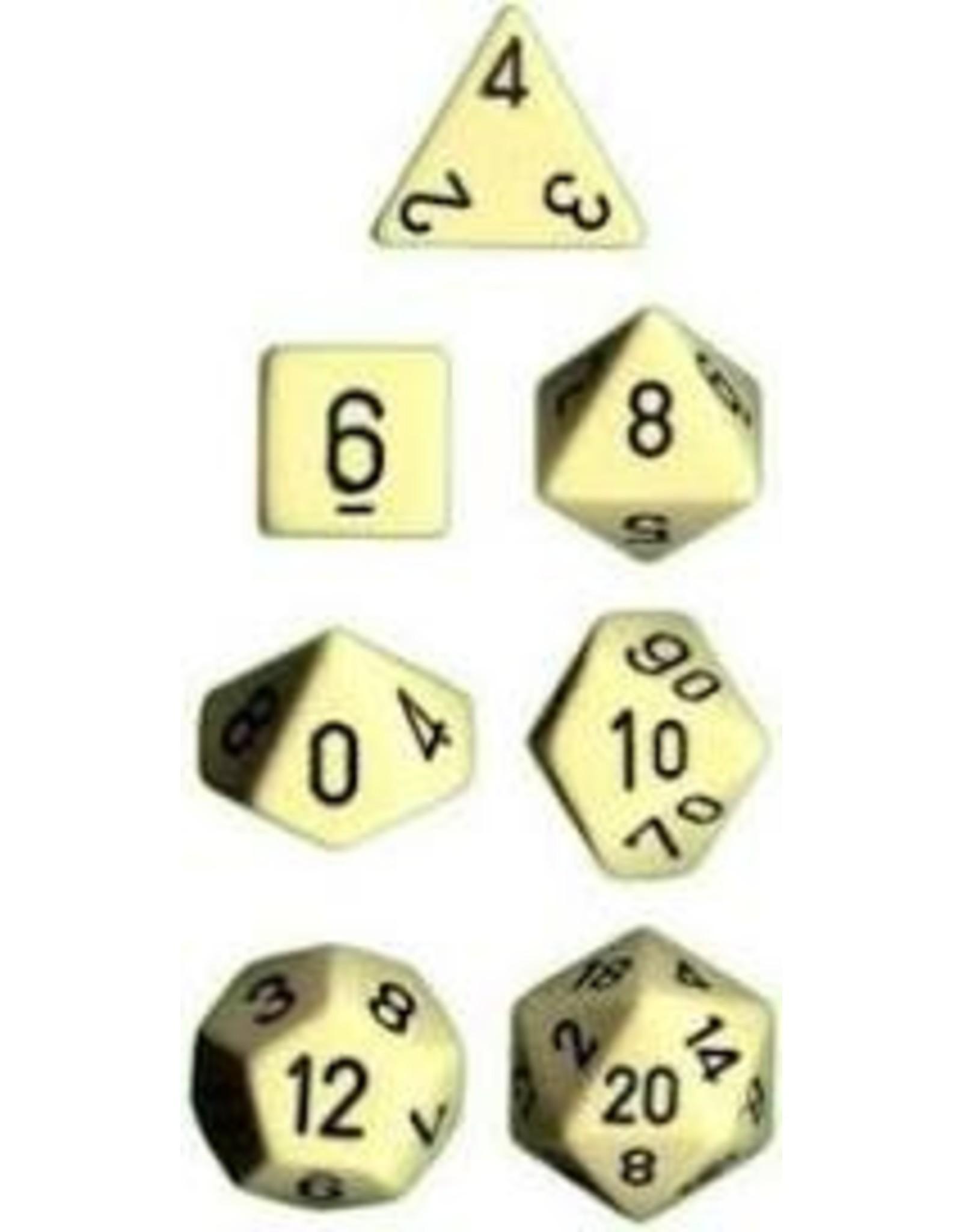 Chessex 7-setCubeOP IVbk