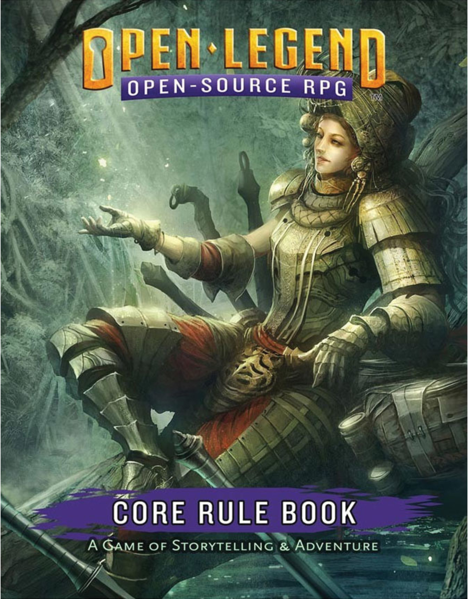 Role Playing Open Legend: Core Rule Book