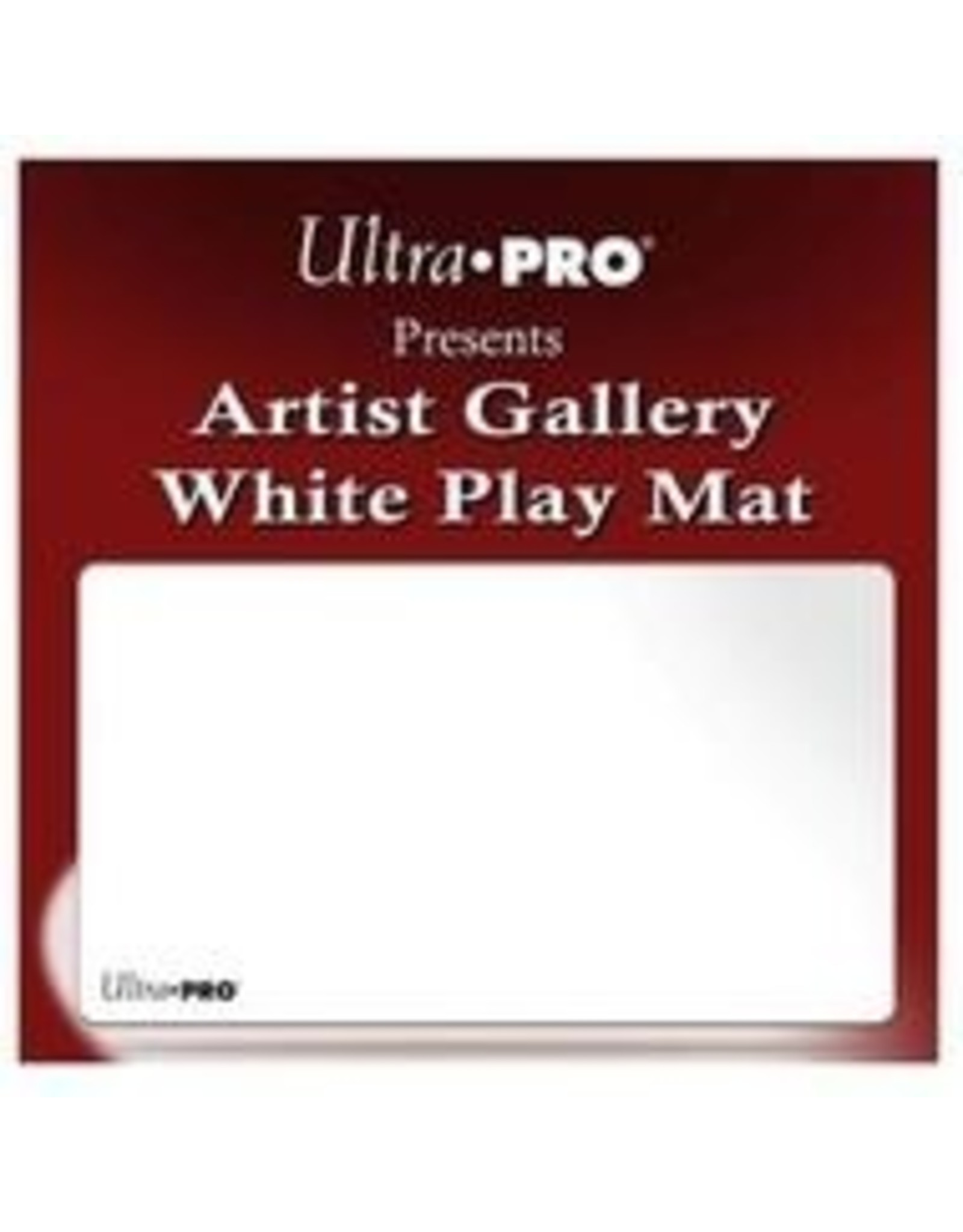 Ultra Pro Play Mat: Artist Gallery White