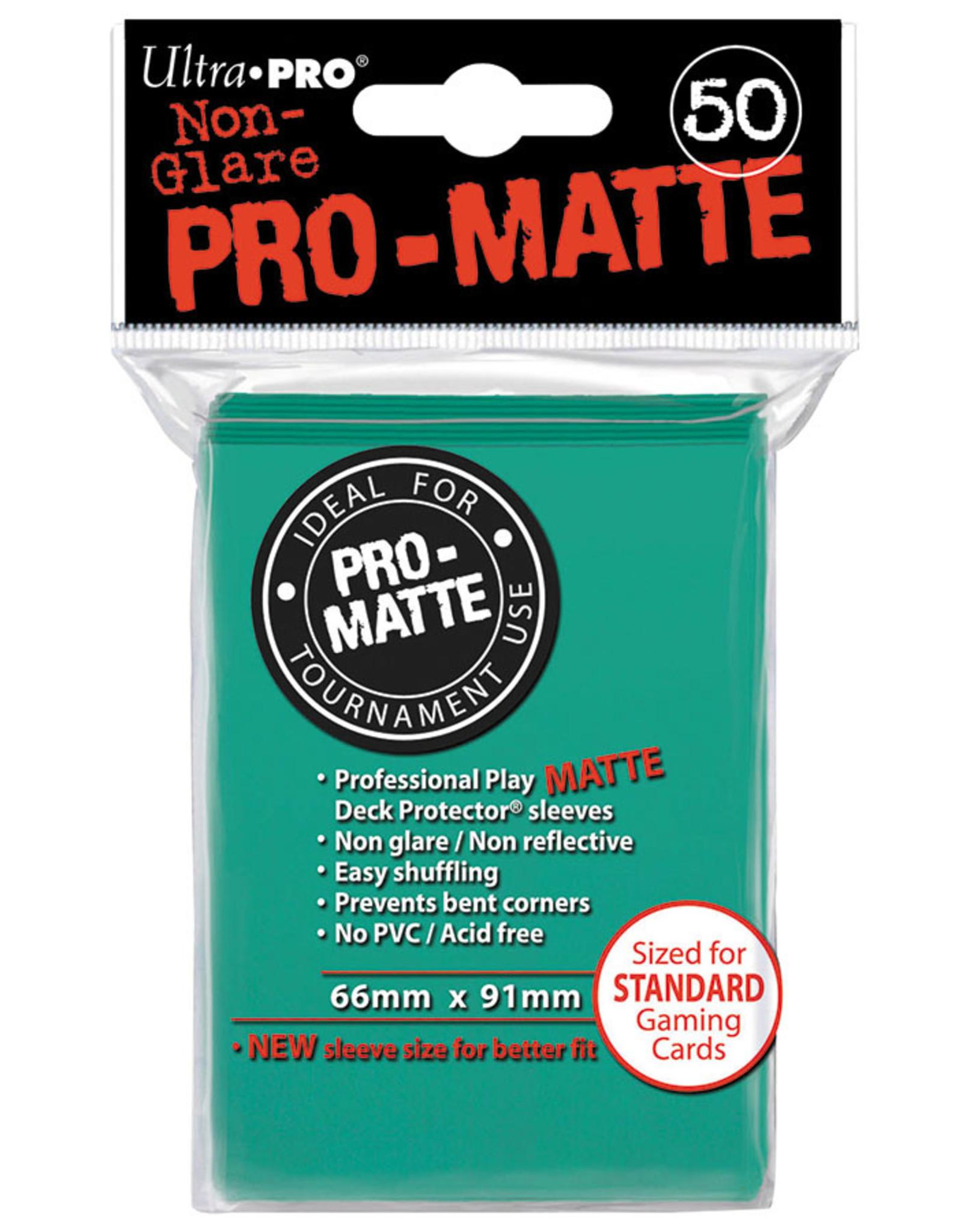 Ultra Pro Deck Protector: Pro Matte Aqua (50)