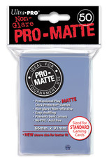 Ultra Pro Deck Protector: PRO-Matte - Clear (50std)