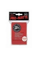 Ultra Pro Deck Protector: PRO Matte RD (50)