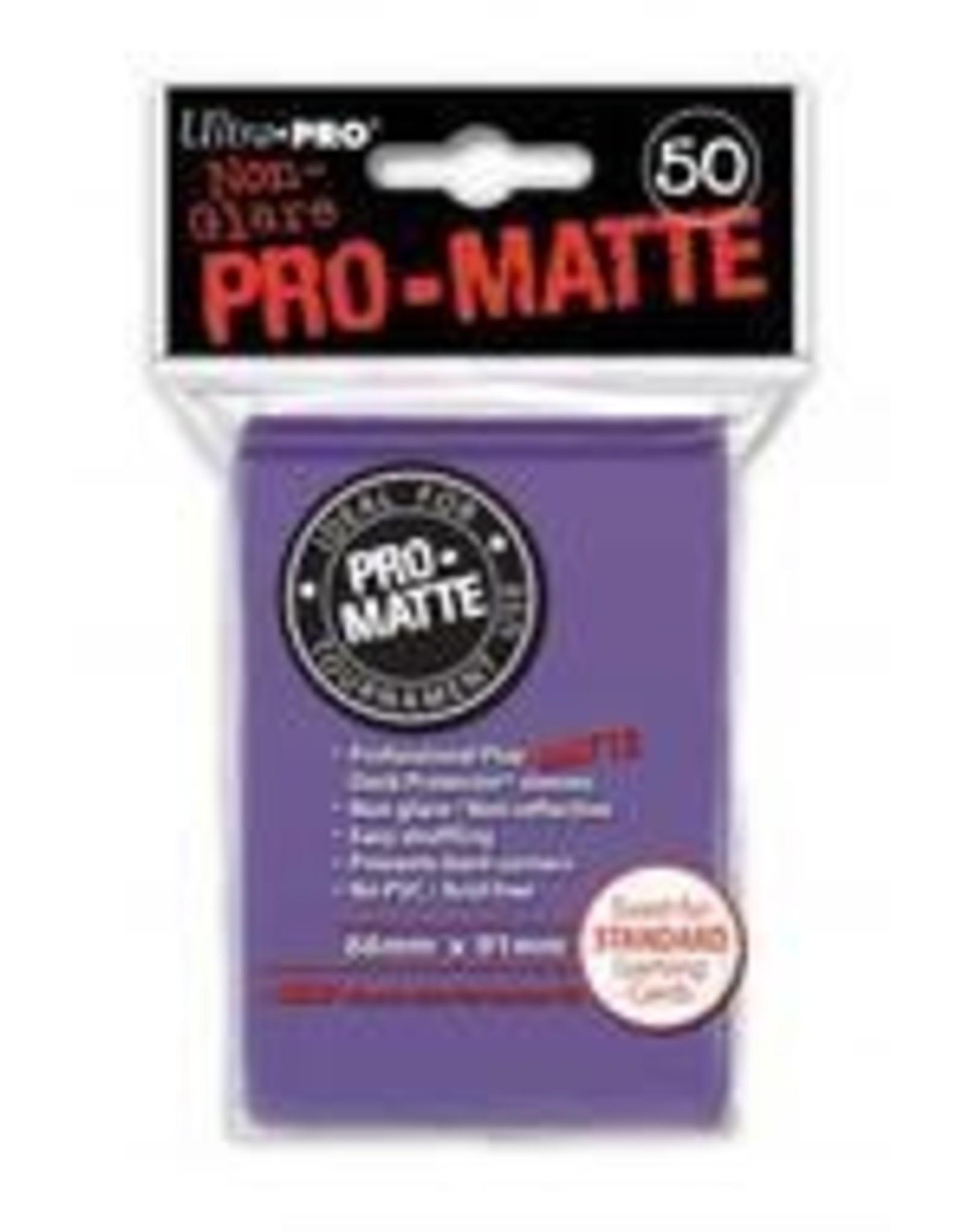 Ultra Pro Deck Protector: PRO-Matte - Purple (50std)
