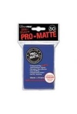 Ultra Pro Deck Protector: PRO-Matte - Blue (50std)