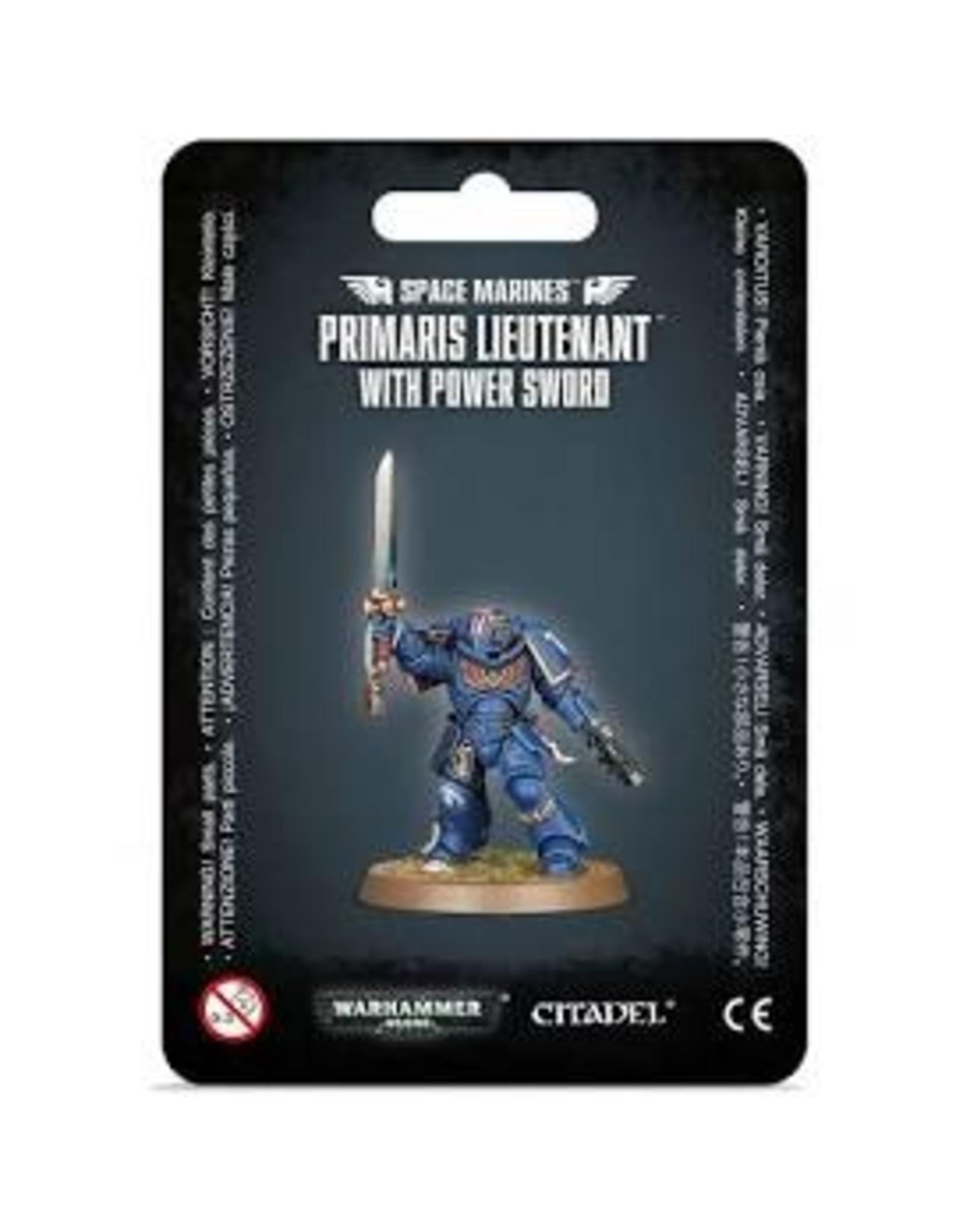 Warhammer 40K Space Marine Primaris Lieutenant With Power Sword