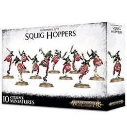 Age of Sigmar Gloomspite Gitz: Squig Hoppers