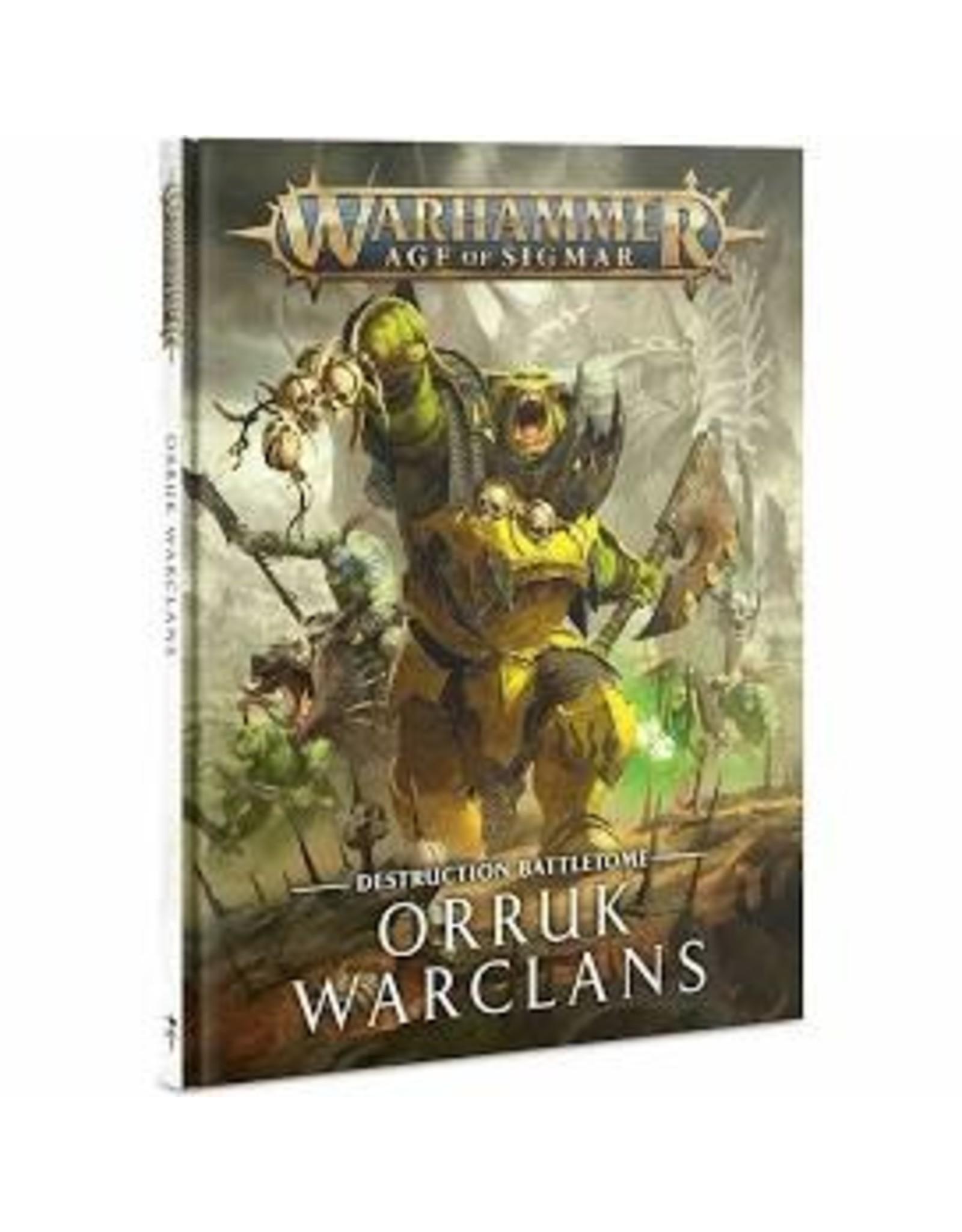 Age of Sigmar Battletome: Orruk Warclans