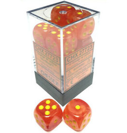 Chessex d6Cube16mm Ghostly Glow ORye (12)