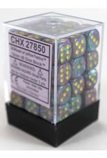 Chessex d6Cube12mm Festive Mosaic/ye (36)