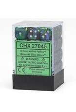 Chessex Dm5 Festive 12mm D6 Green/silv