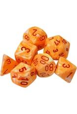 Chessex 7-Set Polyhedral Cube Festive Sunburst rd