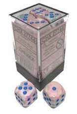 Chessex d6Cube 16mm Festive Pop-Art bu