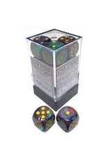 Chessex d6Cube16mm Festive Mosaic/ye (12)