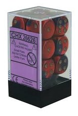 Chessex Gemini 16mm D6 Purple Red/whit