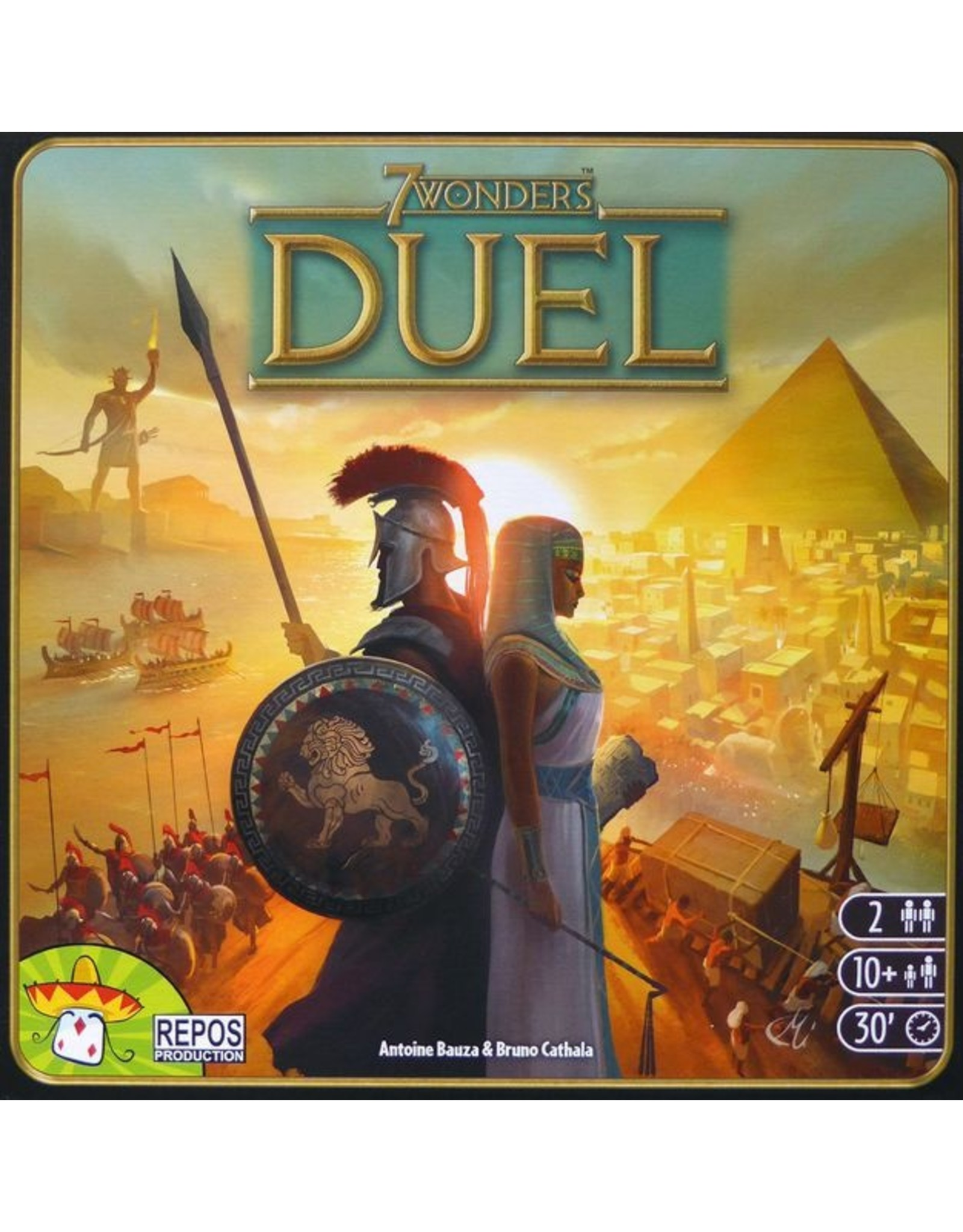 Days of Wonder 7 Wonders Duel