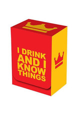 Legion Deck Box: I Drink and I Know Things!