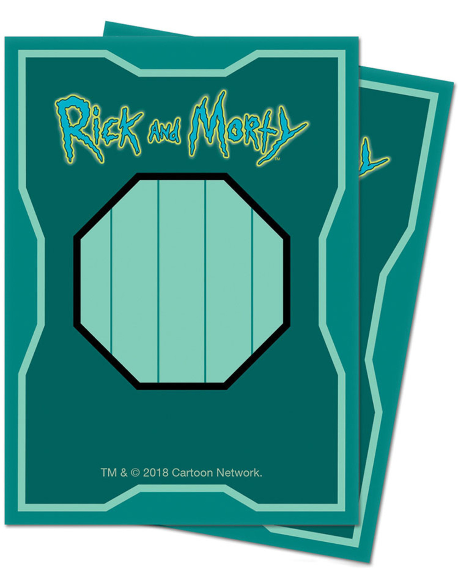 Ultra Pro Deck Protector: Rick and Morty V1 (65)