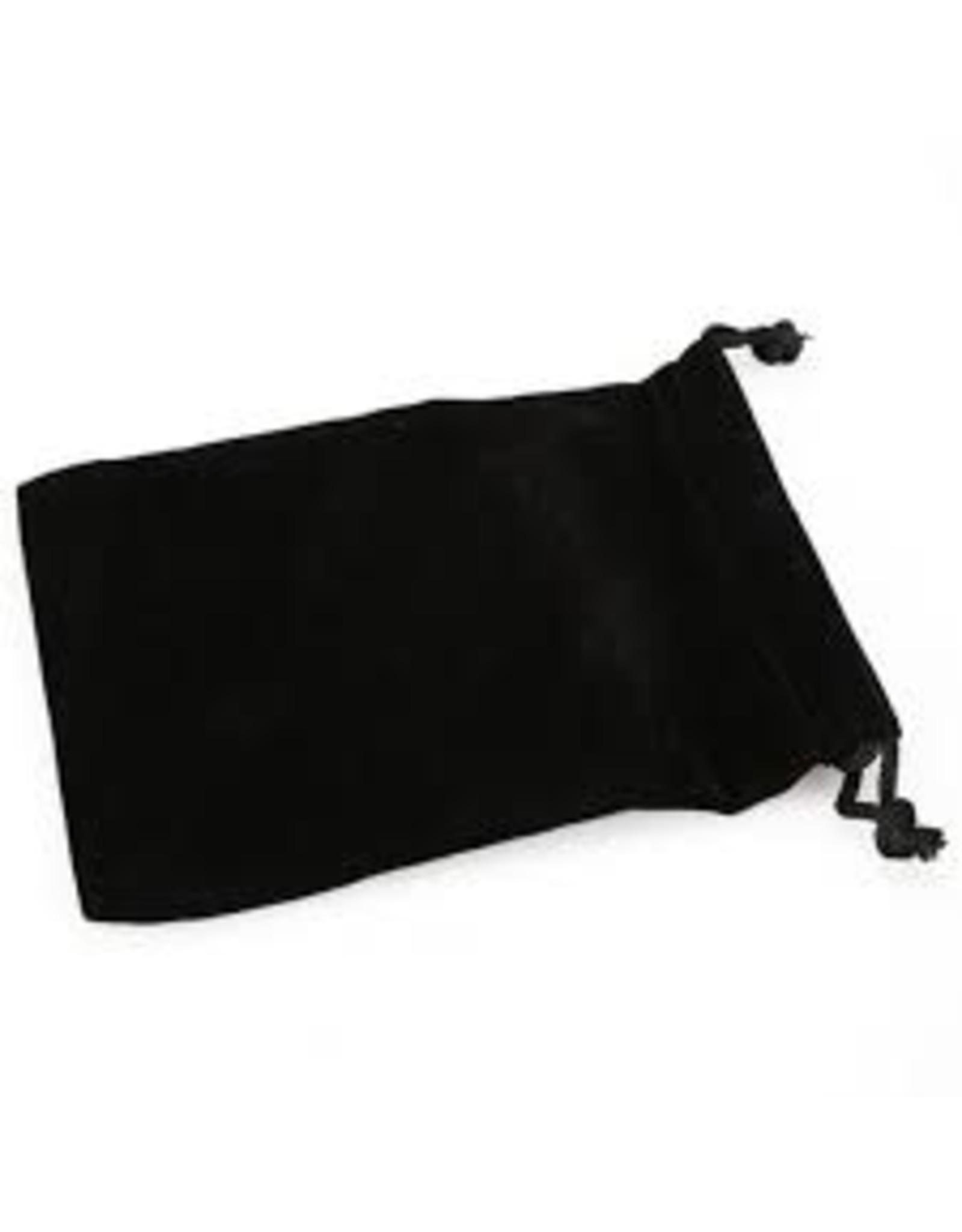 Chessex Suedecloth dice bag,lg black