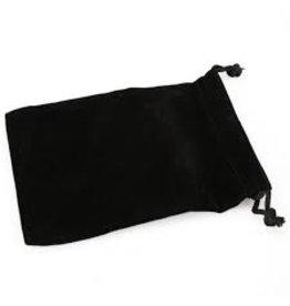 Chessex Suedecloth dice bag, large black