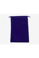 Chessex Suedecloth dice bag, large royal purple