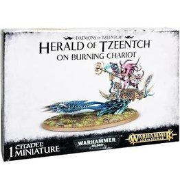 Warhammer 40K Herald of Tzeentch on Burning Chariot w/ Exalted Flamer