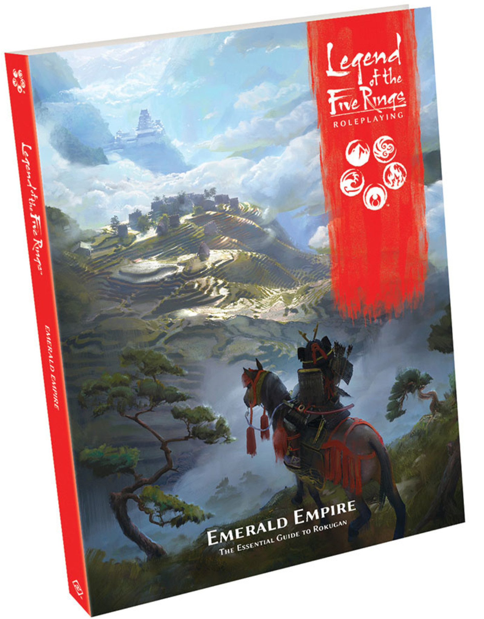 Fantasy Flight Games Legend of the Five Rings RPG: Emerald Empire Hardcover