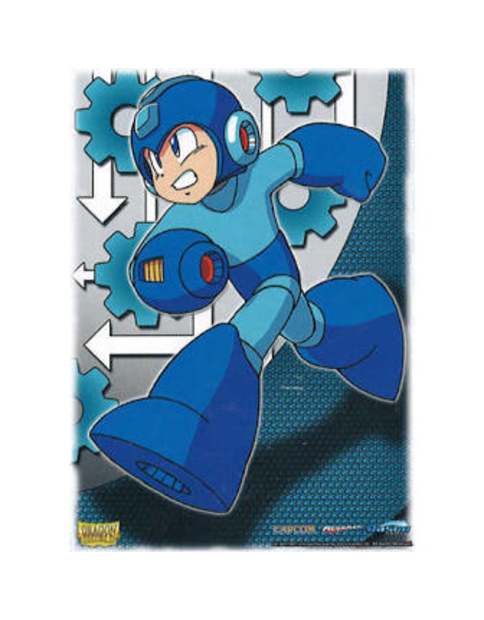 Dragon Shield: Art: Mega Man Standard (100)