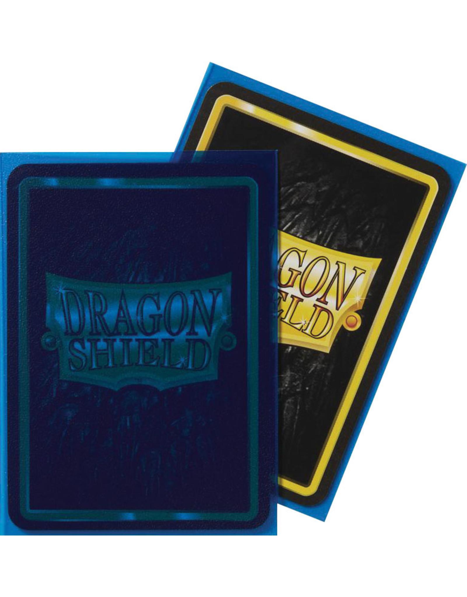 Dragon Shield: (100) Matte Clear Blue