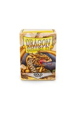 Dragon Shield: (100) Matte Gold