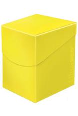 Ultra Pro Deck Box: PRO 100+: Eclipse: Lemon YE