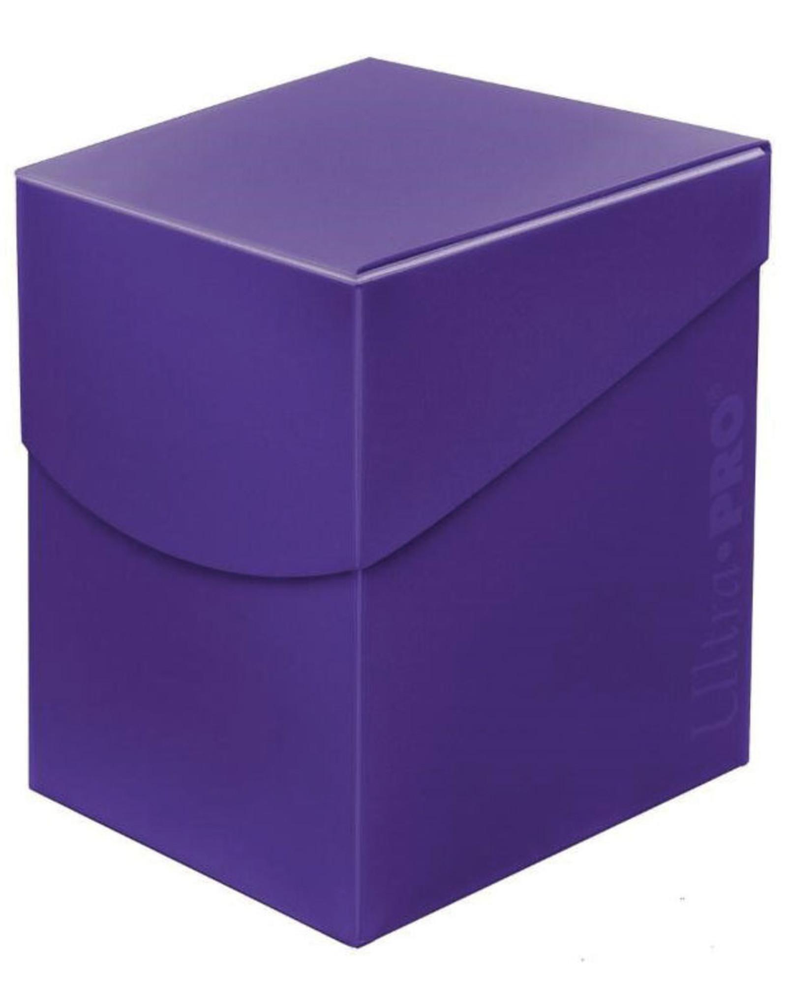 Ultra Pro Deck Box: PRO 100+: Eclipse: Royal PU