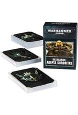 Warhammer 40K Adepta Sororitas Datacards