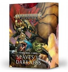 Age of Sigmar Warscroll Cards: Slaves To Darkness
