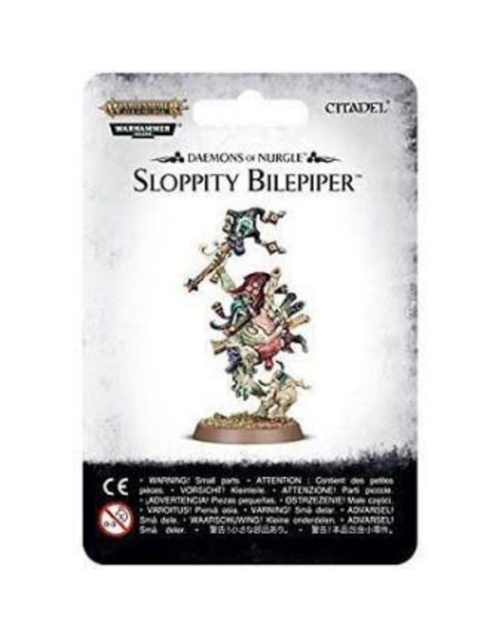 Age of Sigmar Sloppity Bilepiper: Herald of Nurgle