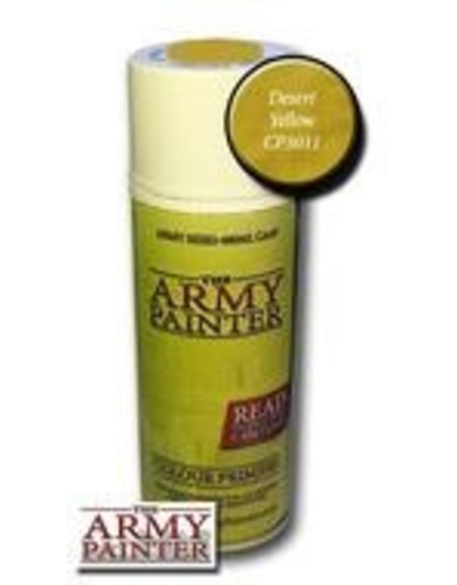 Army Painter Colour Primer: Desert Yellow