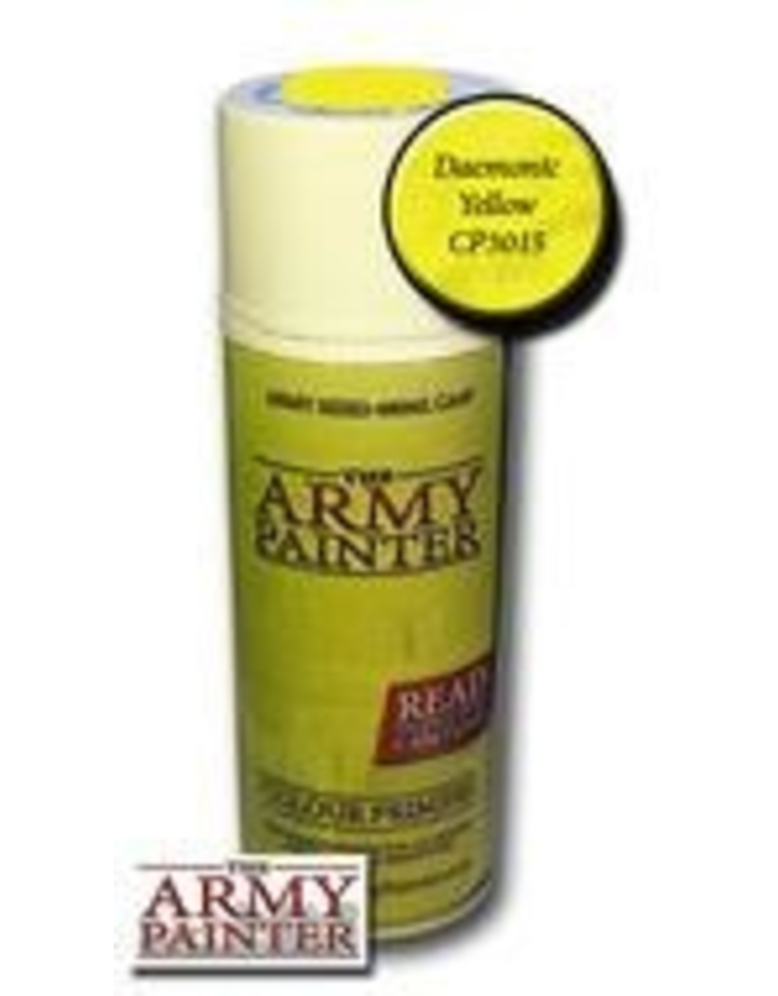Army Painter Colour Primer: Daemonic Yellow