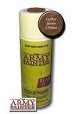 Army Painter Colour Primer: Leather Brown