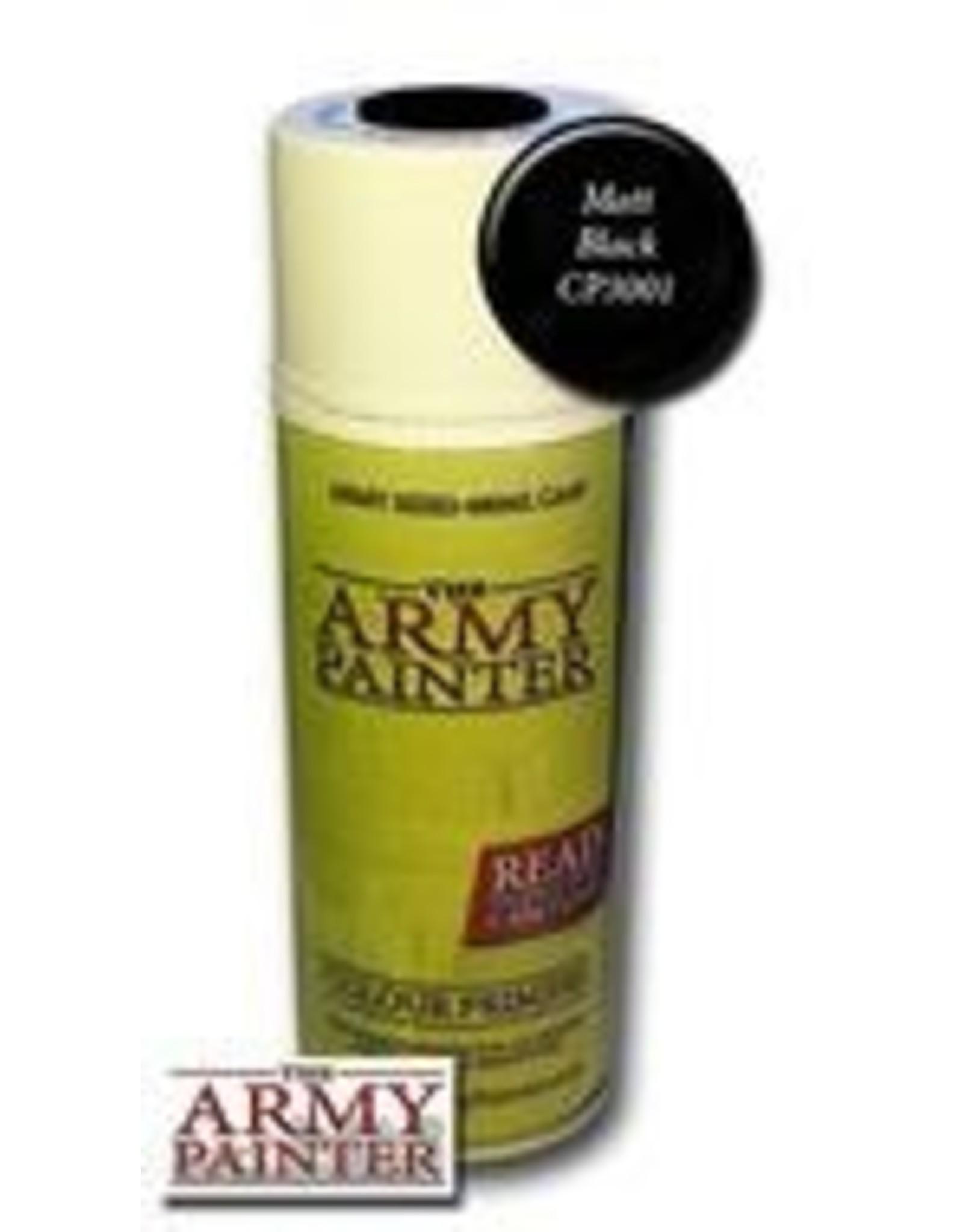 Army Painter Base Primer: Matte Black