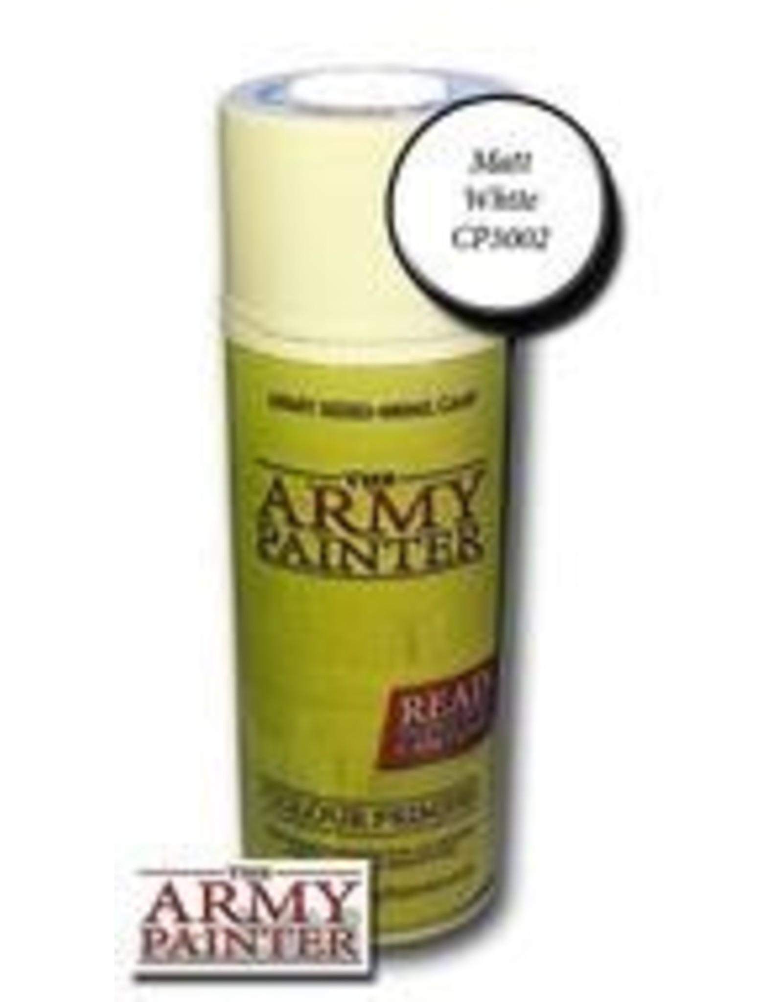 Army Painter Base Primer: Matte White